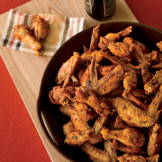 Spicy Sriracha Chicken Wings Recipe - Michael Symon | Food ...