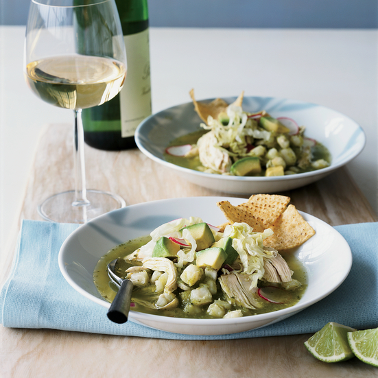 Mexican Chicken Pozole Verde