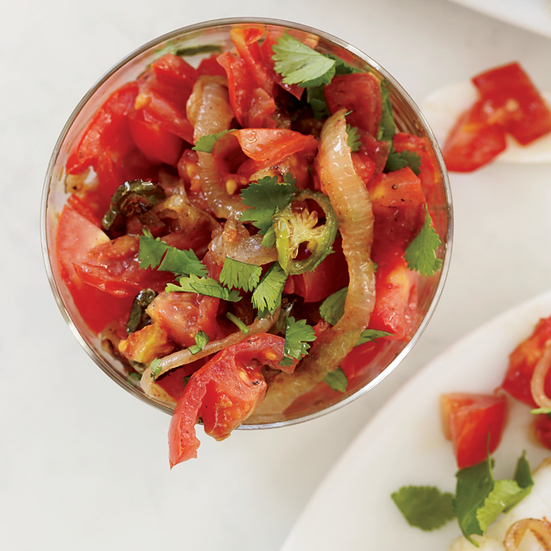 Indian-Spiced Tomato Salsa