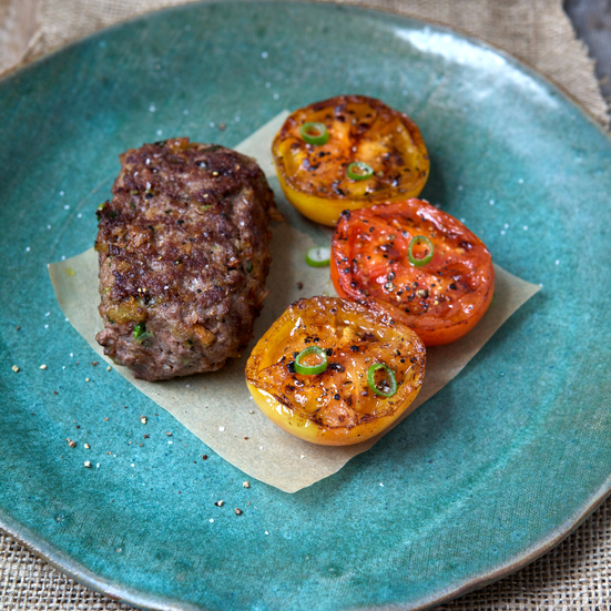 Grilled Mini Meat Loaves
