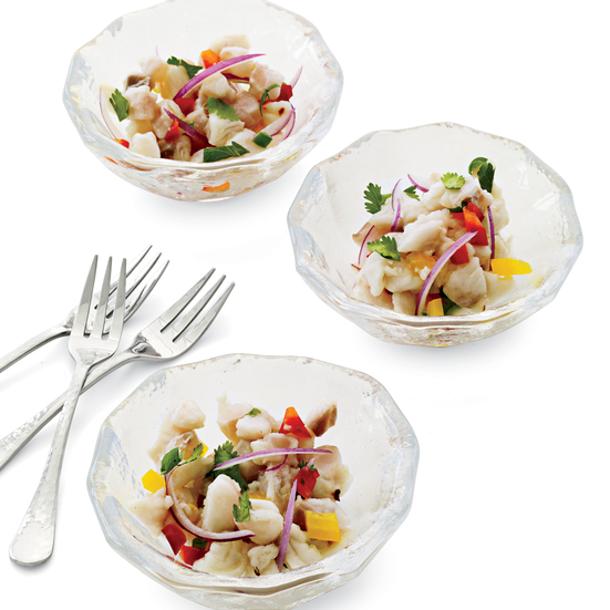 Red Snapper Ceviche