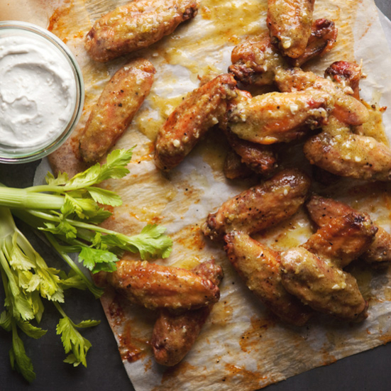Green Jalapeño Hot Wings