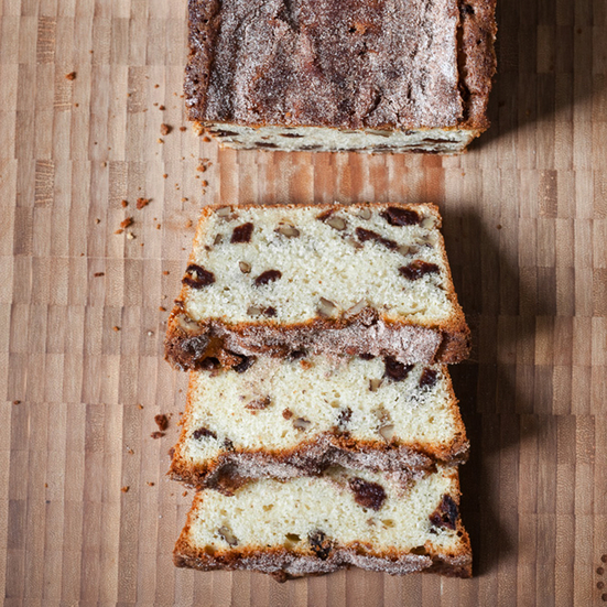 Strawberry-Pecan Quick Bread