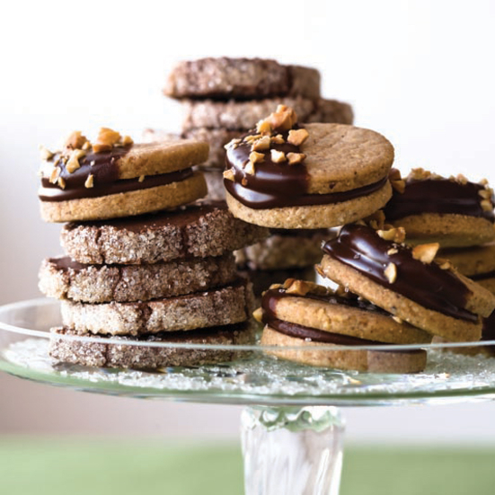 Sugar-Crusted Chocolate Cookies