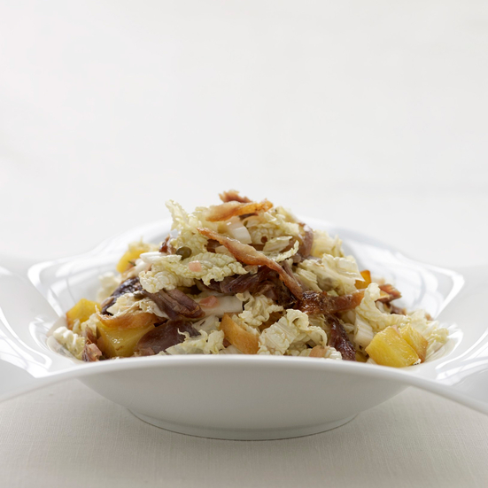 Warm Duck-and-Cabbage Salad
