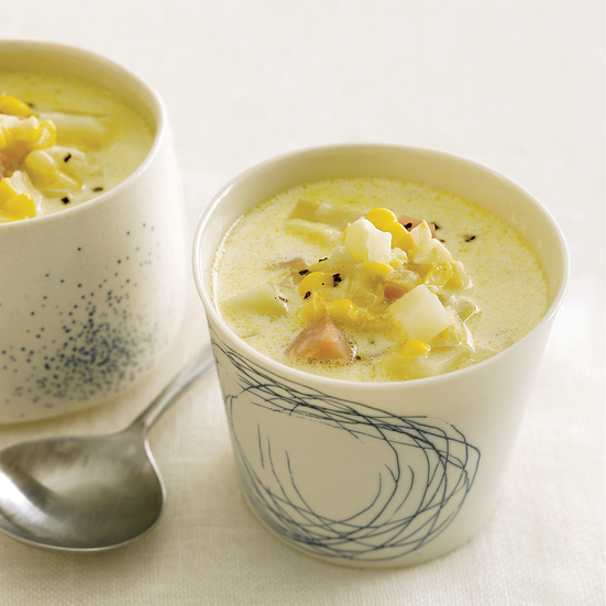 Smoky Ham-and-Corn Chowder