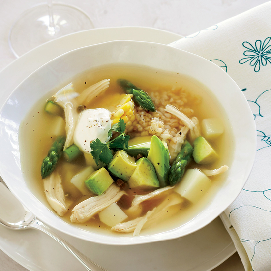 Colombian Chicken Soup Recipe - Doris Esther Ayola Orozco ...