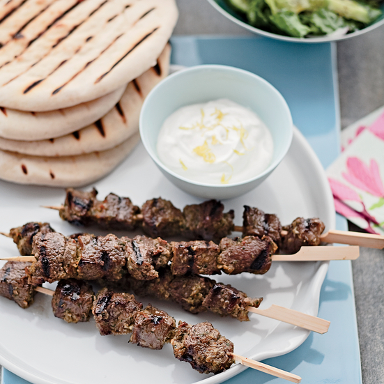 Middle Eastern Lamb Skewers