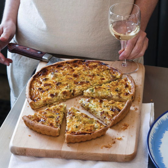 Bacon-and-Leek Quiche