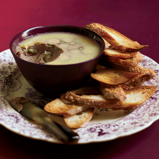 Creamy Chicken-Liver Mousse