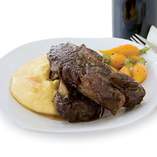 Wine Braised Short Ribs.