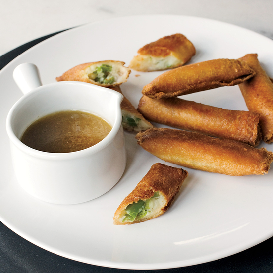 Mashed-Potato Spring Rolls