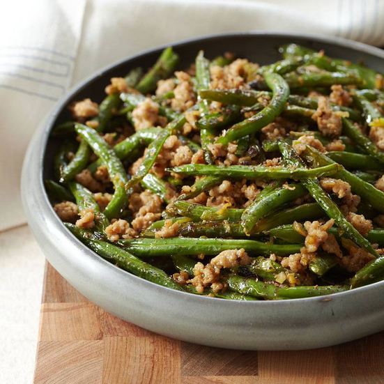 Szechuan Dry-Fried String Beans