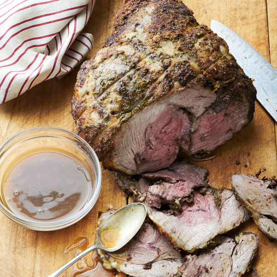 Vadouvan-Spiced Leg of Lamb