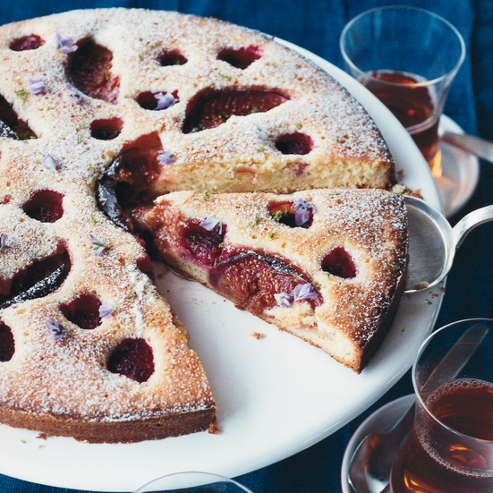 Raspberry-and-Fig Cake