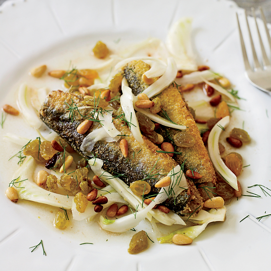Marinated Sardines with Fennel, Raisins, and Pine Nuts