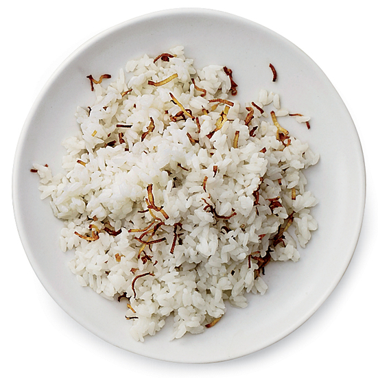 Sizzled-Ginger Rice