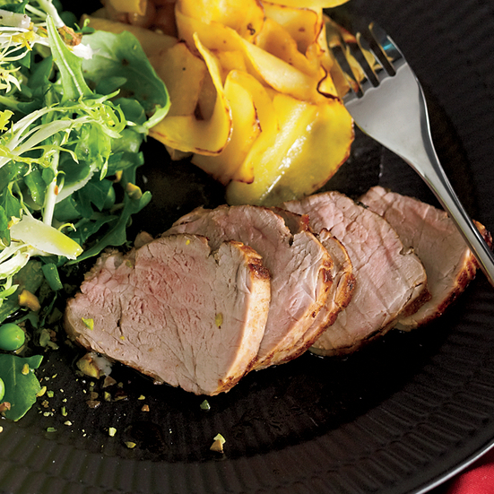 Spicy Lemon-Rosemary Pork Tenderloin