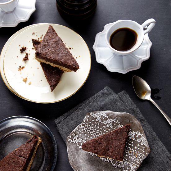 Espresso-Shortbread Brownie Bars Recipe - Grace Parisi | Food & Wine