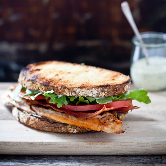 Grilled-Trout BLT