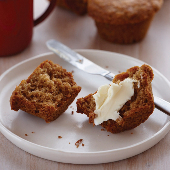 White House Honey-Oat Muffins