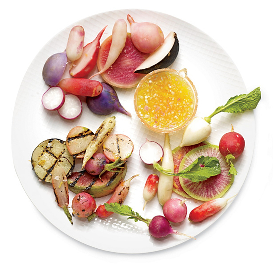 Sous Vide Radishes Three Ways