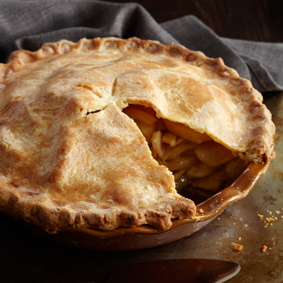 Deep-Dish Apple Pie with a Cheddar Crust