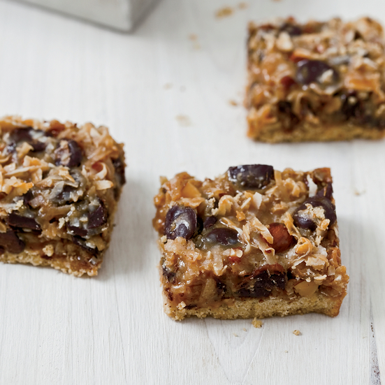 Dulce de Leche, Coconut and Chocolate Chip Magic Bars Recipe - Grace ...