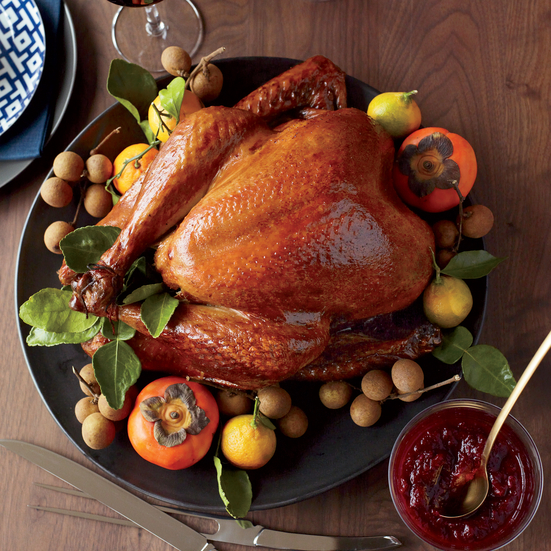 Soy-Sauce-and-Honey-Glazed Turkey