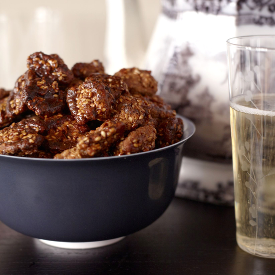 Sweet-and-Spicy Sesame Walnuts Recipe - Joanne Chang | Food & Wine