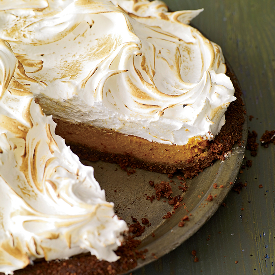 Sweet-Potato Meringue Pie Recipe - Andrew Carmellini | Food & Wine