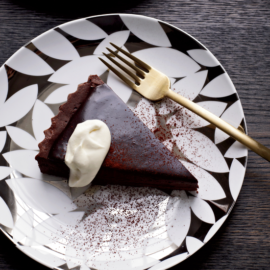 Bittersweet-Chocolate Tart Recipe - Alain Ducasse | Food & Wine