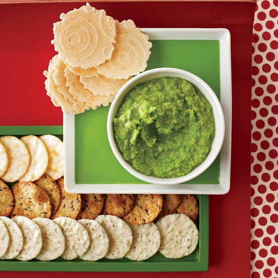 Ginger-Miso Sweet Pea Spread. Photo © David Malosh
