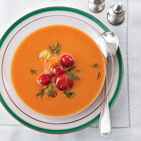 Icy Tomato Soup