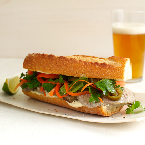 Country Pate Banh Mi.