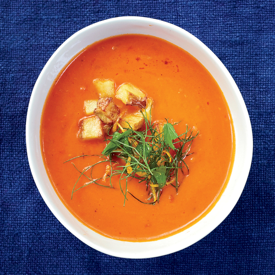 Chunky Tomato Soup, Photo © John Kernick