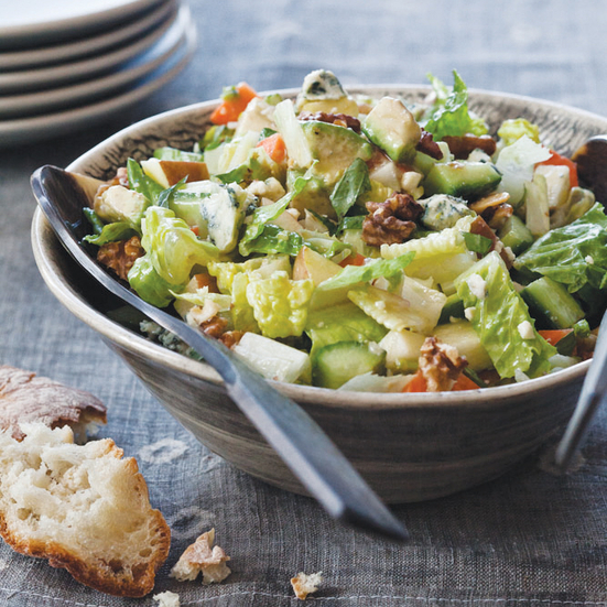 Recipe with blue cheese dressing