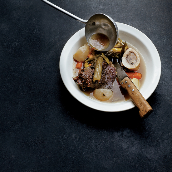 Classic Pot-au-Feu. Photo © P-A Jorgensen