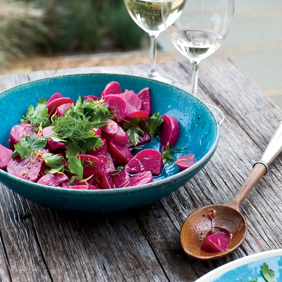 Pickled Beet Salad. Photo © Ingalls Photography