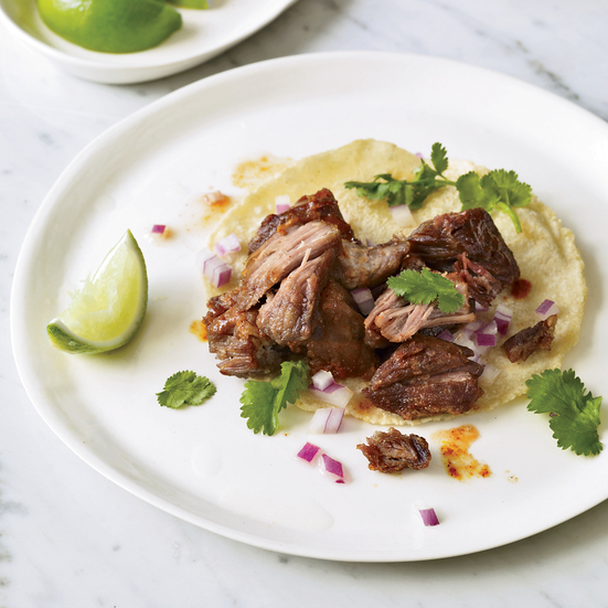 Pressure Cooker Pork Carnitas. Photo © Antonis Achilleos