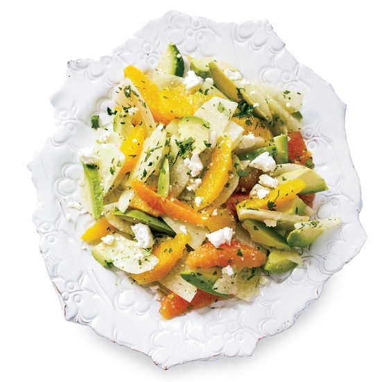 Avocado, Orange and Jicama Salad