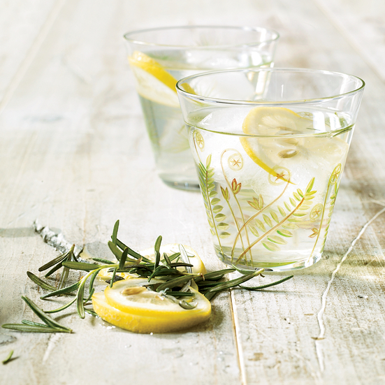 Lemon-Rosemary Sun Tea