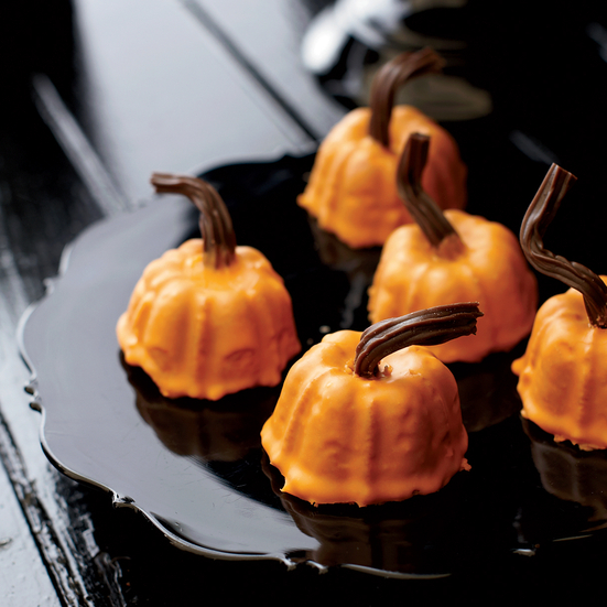 Mini Spiced Pumpkins
