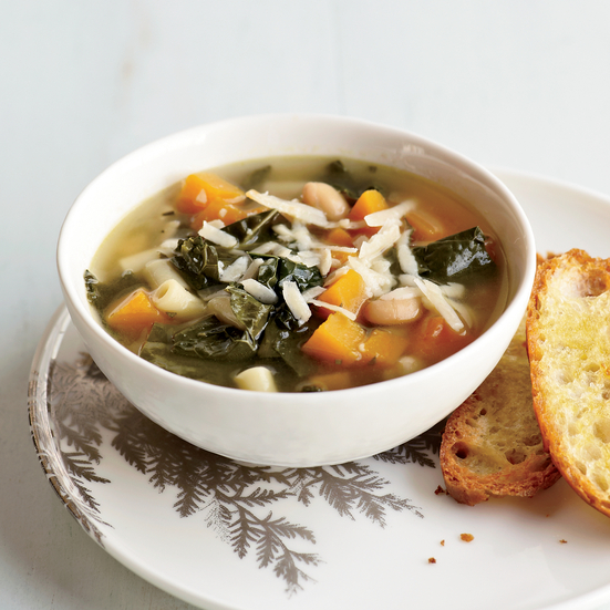 Tuscan-Kale-and-Squash Minestra