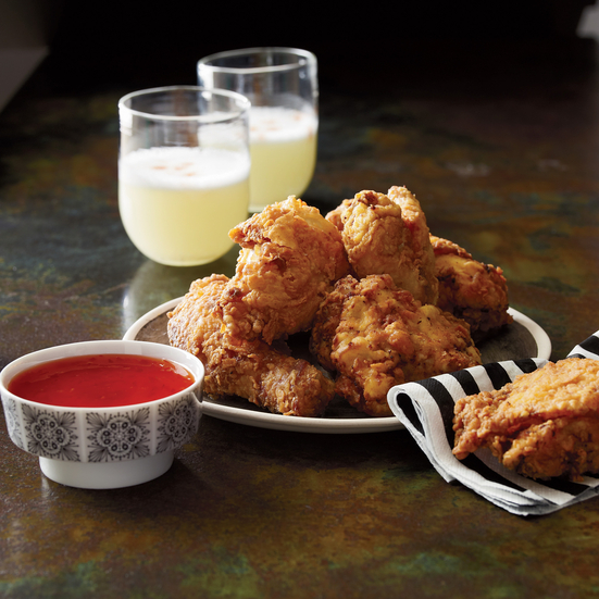 Cocktail Guide: Buttermilk Fried Chicken with Madras Curry Recipe