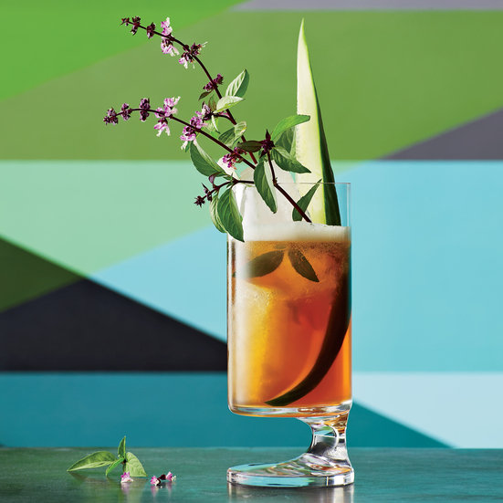Cocktail Recipe: Pimm's Cup Royale