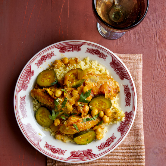 Chicken and Zucchini Couscous