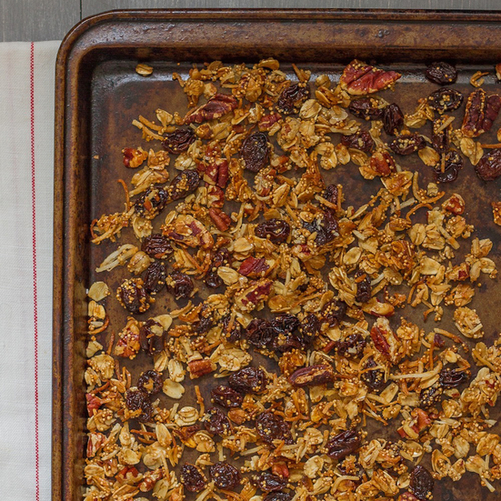 Maple-Amaranth Granola
