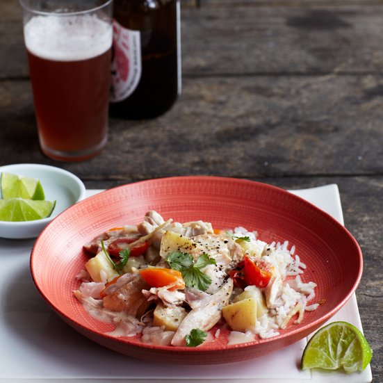 Slow Cooker Thai-Inspired Chicken Stew