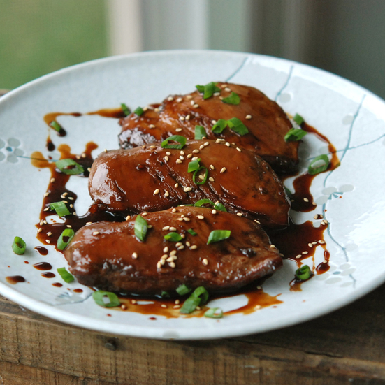 Japanese Yakitori-Style Pan-Roasted Duck Breast